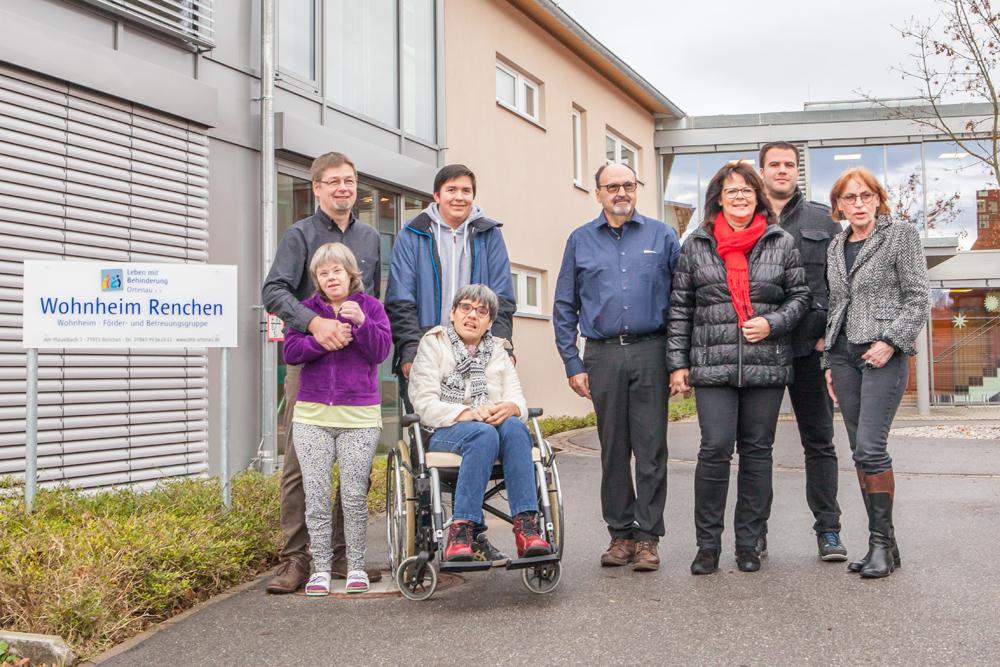 Spendenübergabe Leben mit Behinderung